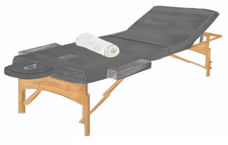 Séance de massage bien être et énergétique par Philippe France