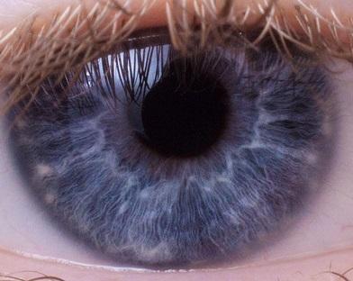 supernaturo-iris bleu fibre