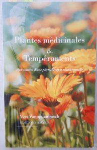 Livre Plantes médicinales et tempéraments