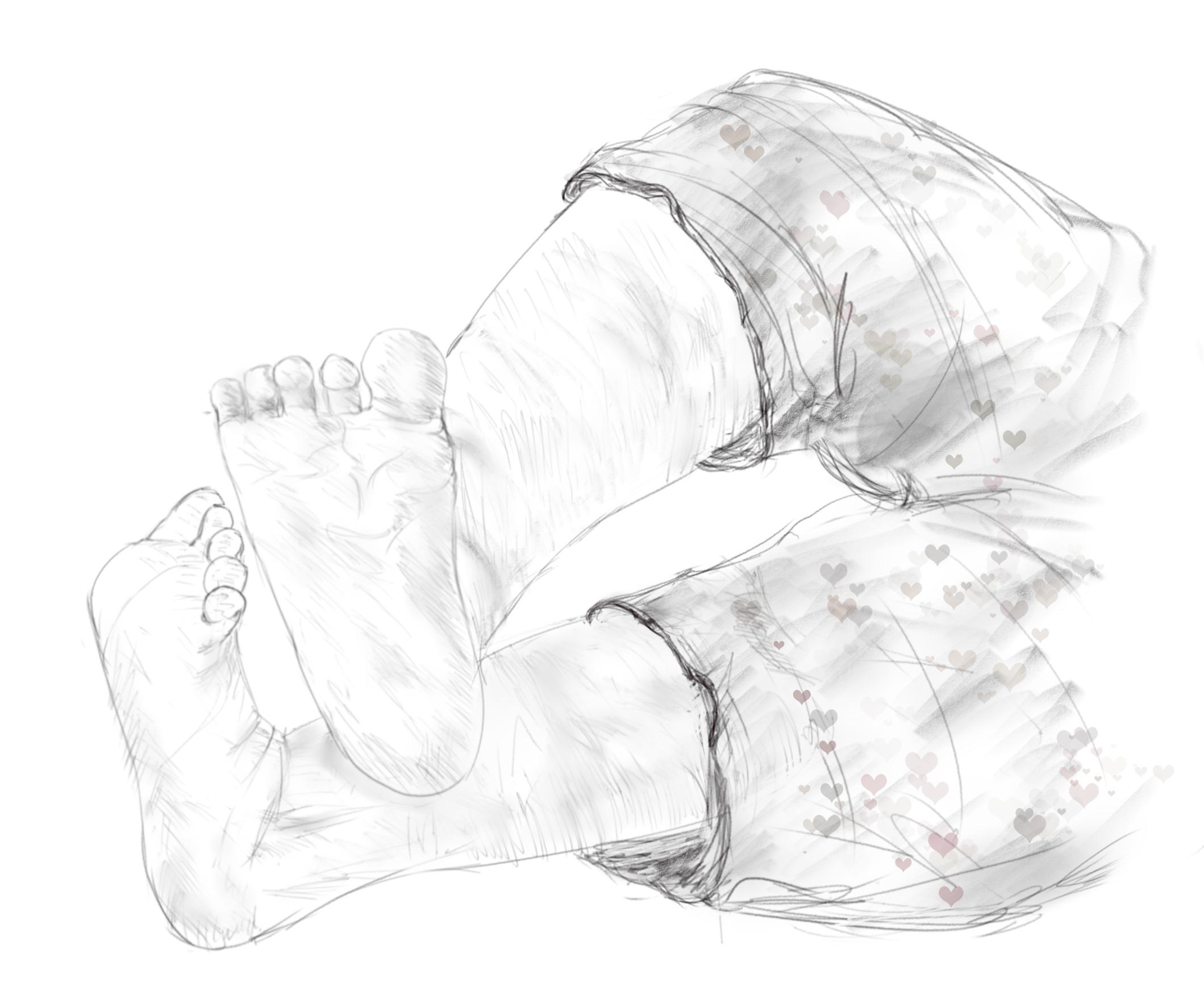 Supernaturo-pied bebe