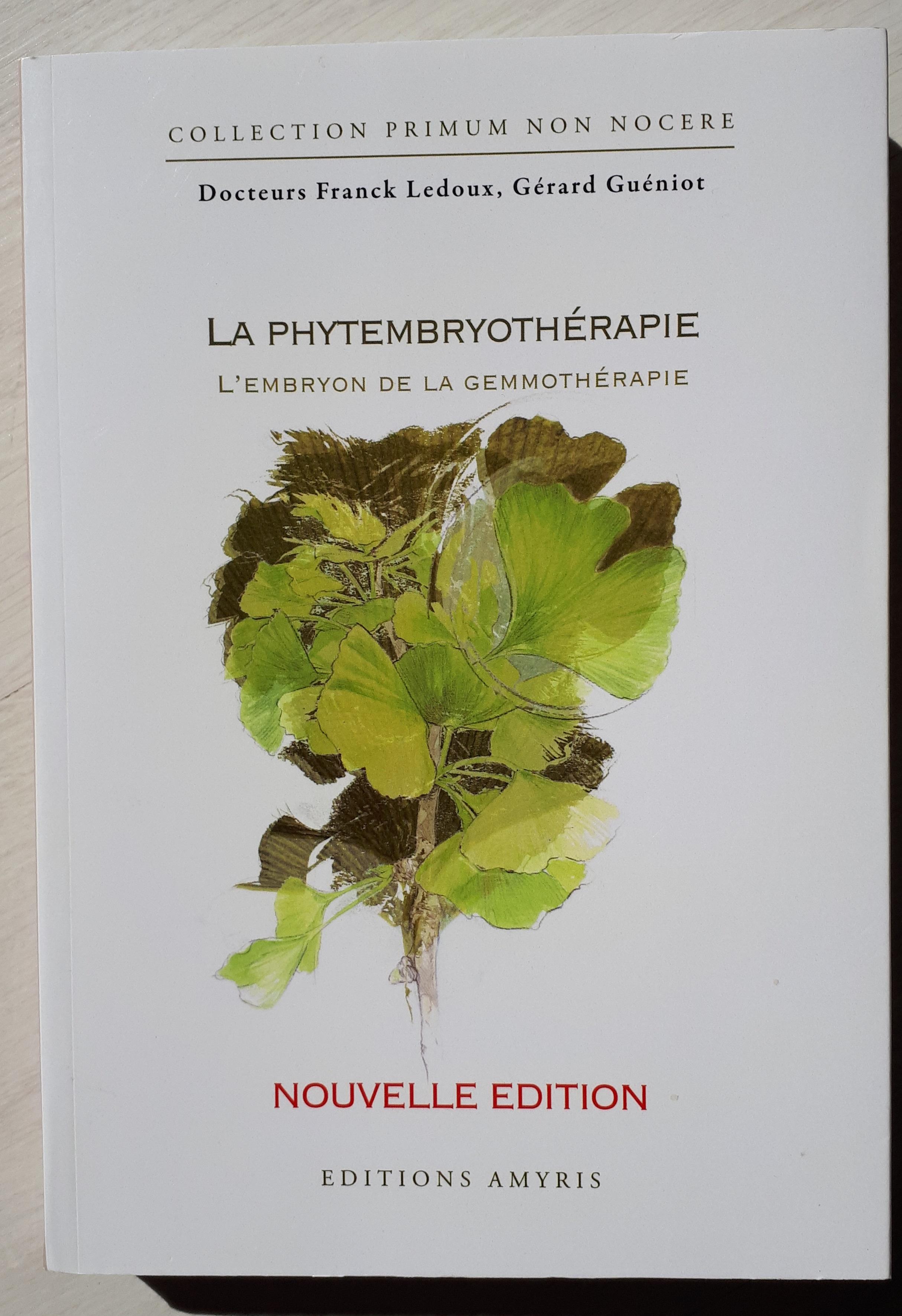 Read more about the article Livre Phytembriothérapie: l'embryon de la gemmothérapie