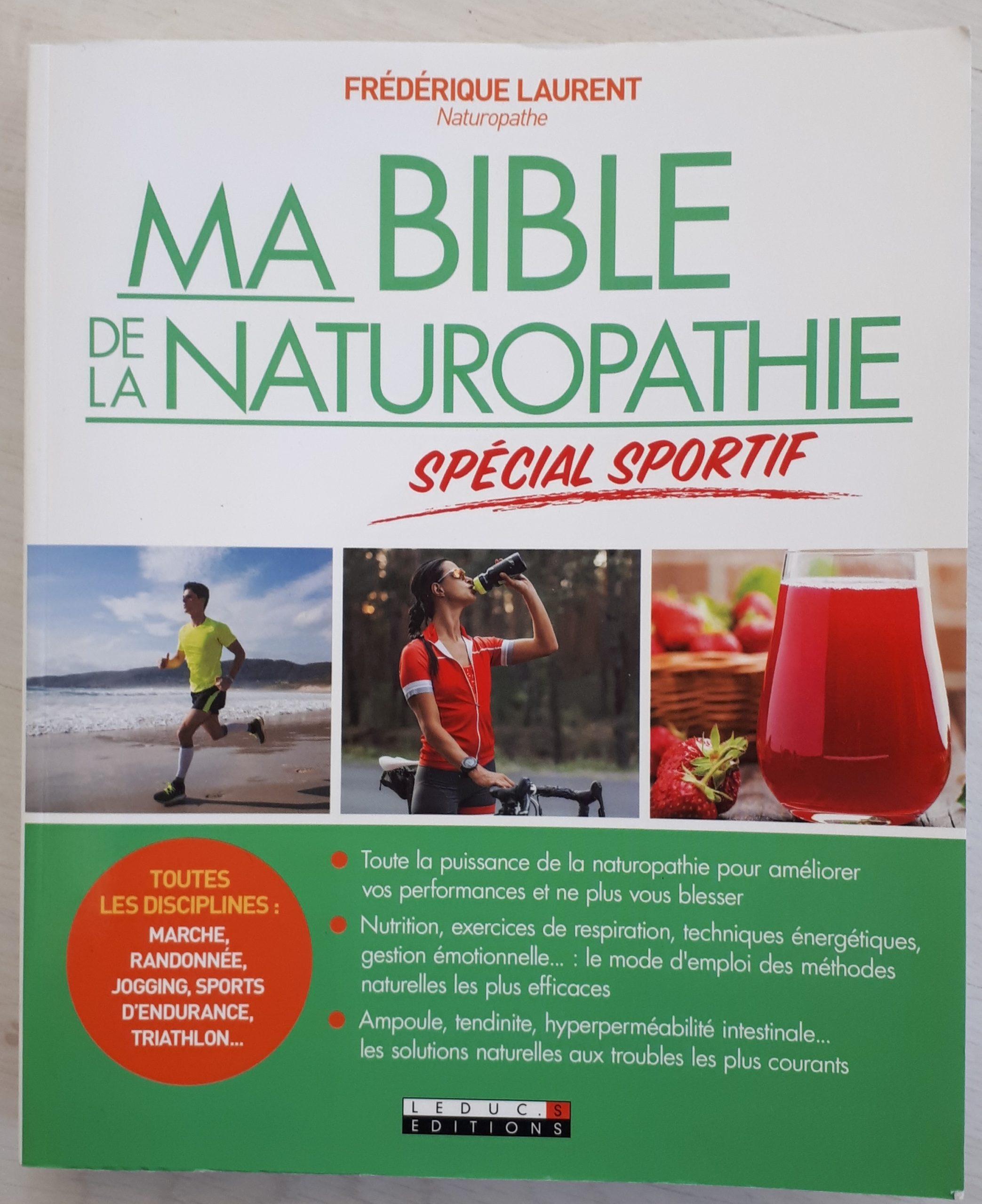 Read more about the article Livre Ma bible de la Naturopathie spécial sportif